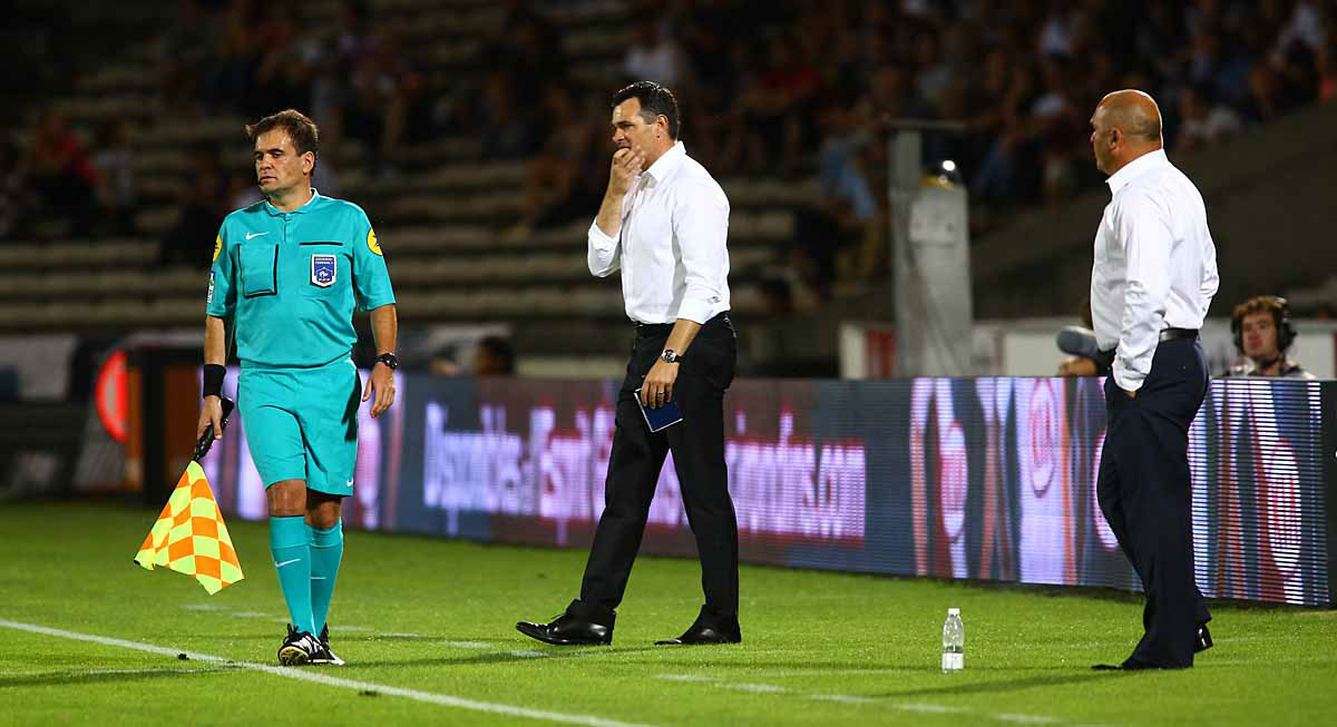 Dupraz et Sagnol se clashent pendant Evian/Bordeaux