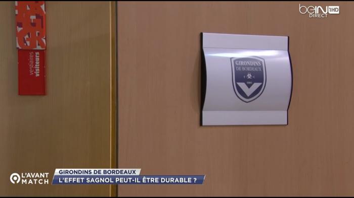 Vestiaire FCGB à Reims