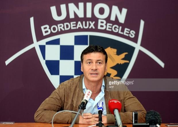 Le président de l'UBB devant la presse